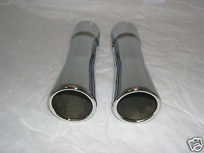 1967-68 Gto/lemans/tempest Exhaust Extensions,2 1/4""