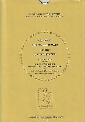 Geologic Map of the Heber Quadrangle, Utah (Map GQ-864)