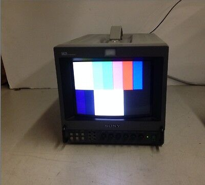 "Sony Trinitron PVM-8044Q 12"" Color Surveillance Video Monitor"