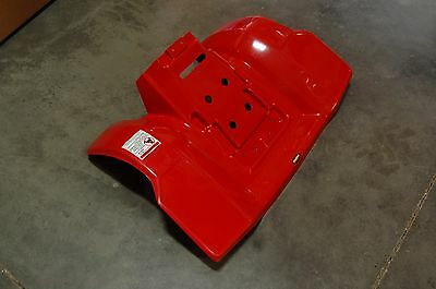 Honda 85 - 86 Atc250R Red Plastic Rear Fender Atc 250R