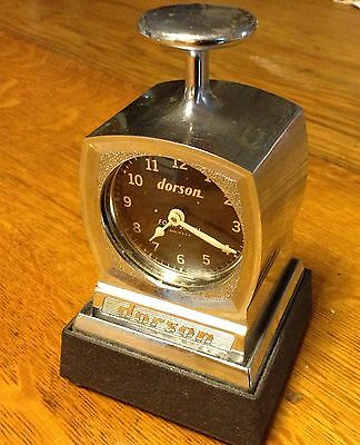 DORSON TIME STAMP CLOCK 1965 Mountain View (Twin Springs) Golf Course Bolton MA