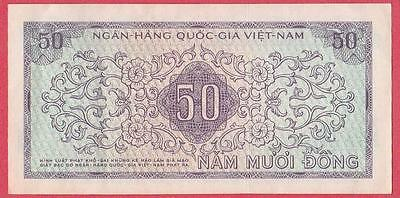 1966 South Vietnam 50 Dong Note