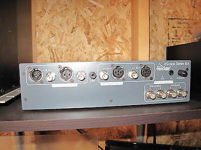 Prism dScope IIIA Analog Audio Analyzer Impossible to find,  Excellent condition