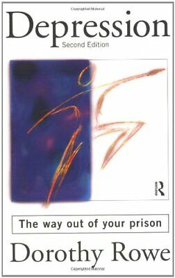 Depression: The Way Out of Your Prison by Rowe, Dorothy Paperback Book The Cheap
