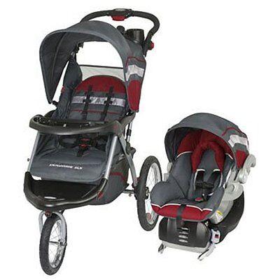 Baby Trend Expedition ELX Jogging Stroller And Car Seat Travel System | TJ93701