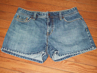 Womens Old Navy Low Waist Denim Jeans Mini Short Shorts Size 6
