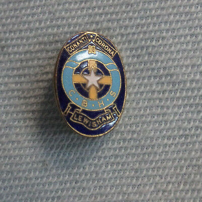 #D308. Christian  Brothers  High  School Lapel Badge, Lewisham