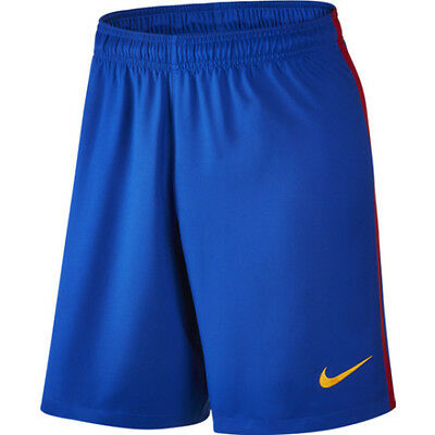 OFFICIAL BARCELONA 16/17 HOME SHORTS size MENS XL
