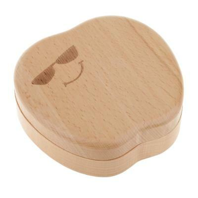 Cool Glasses Smile Apple Tooth and Curl Storage Box Hair Lanugo Organizer