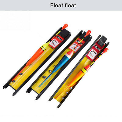 3pcs 5# 7# 9# Vertical Buoy Fishing Float Set Wood Fishing Floats 12.5cm 10g