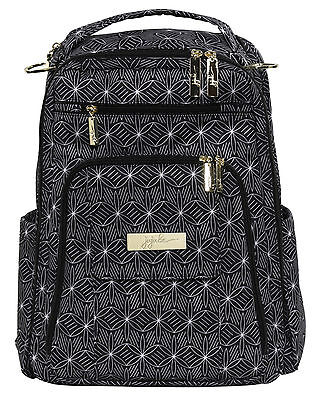 Ju Ju Be Legacy Be Right Back Backpack Baby Diaper Bag The Knight Stars NEW