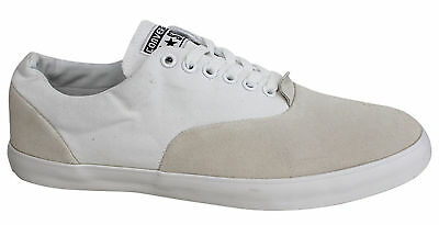 Converse All Star Mens White Lace Up CVO Canvas Trainers Shoes 129713C P2E
