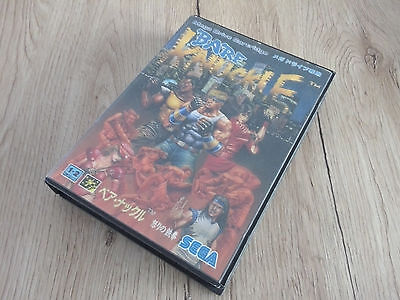 Bare Knuckle Street of Rage Mega Drive Megadrive Sega Jap NTSC Tested