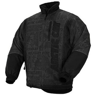 Arctic Cat Men's Stealth Insulated Snowmobile Jacket - Black & Gray - 5240-25_