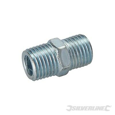 """1/4"""" Bspt Air Line Equal Union Connector 2Pk"""