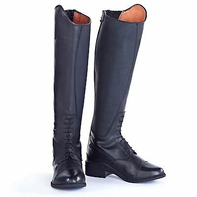 Just Togs Womens Tog Nebraska H2081 Shoes Boots Laces Front Zip Waterproof
