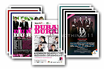 DURAN DURAN  - 10 promotional posters - collectable postcard set # 2