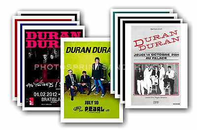 DURAN DURAN  - 10 promotional posters - collectable postcard set # 3