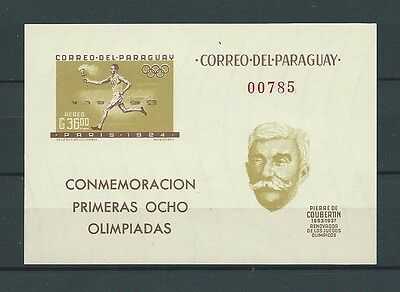Latin America - Paraguay - 1963 Mi 1175 / Bloc 35 -  Timbres Neufs** Mnh Luxe