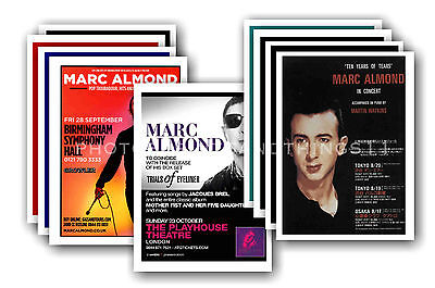 MARC ALMOND  - 10 promotional posters  collectable postcard set # 1