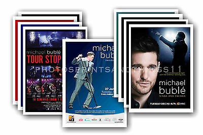 MICHAEL BUBLE  - 10 promotional posters  collectable postcard set # 1