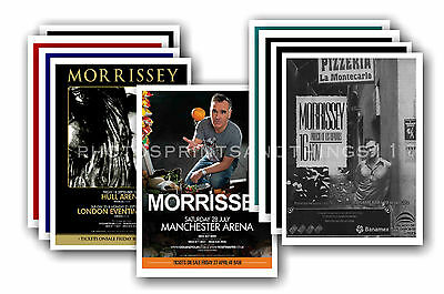 MORRISSEY  - 10 promotional posters  collectable postcard set # 2