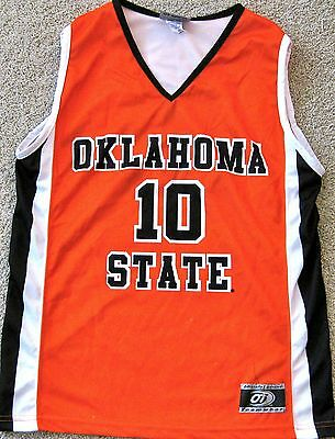 timeless design 26af7 71f36 OKLAHOMA STATE COWBOYS Youth Ncaa Basketball Jersey #10 New! Youth S, M, L  Or Xl