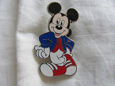 Disney Trading Pin 41785: Mickey Mouse Booster Collection 4 Pin Set - Modern