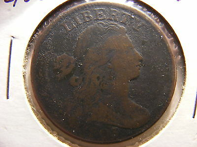 1803 1 Cent Small Date Large Fraction Draped Bust Cent, G+/VG