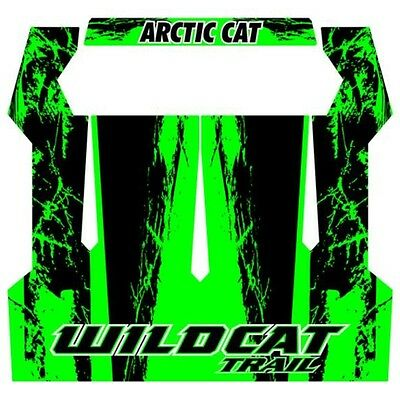 Arctic Cat 2014 Wildcat Trail XT Green Wrap Kit for Aluminum Roof - 2436-033