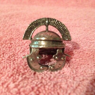 Centurion  Helmet Pewter Thimble  Nib  Westair  United Kingdom