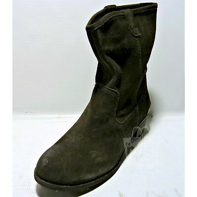 UGG Australia $170 Women's Briar Ankle Boots sz 8 Lodge Dark Brown Suede 1009198