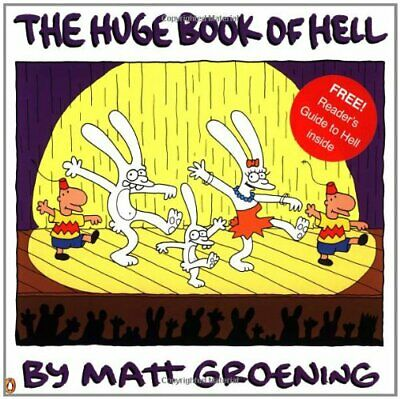 The Huge Book of Hell by Groening, Matt Paperback Book The Cheap Fast Free Post