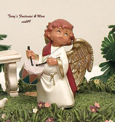 "Fontanini Depose Italy 5"" Anah Special Event Nativity Village Angel Figure Nib"