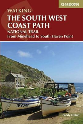 Cicerone Walking The South West Coast Path - Dillon, Paddy - New Paperback Book