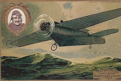 Cpa Experiences D' Aviation Robert Esnault Pelterie 1908