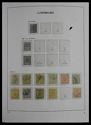 Lot 27418 Collection stamps of Luxembourg 1882-2012.
