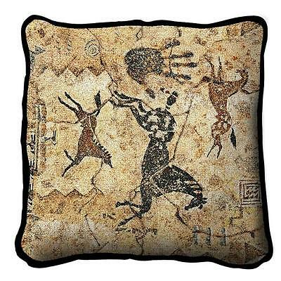 "17"" x 17"" Pillow - Tlalocs Tribe 3884"