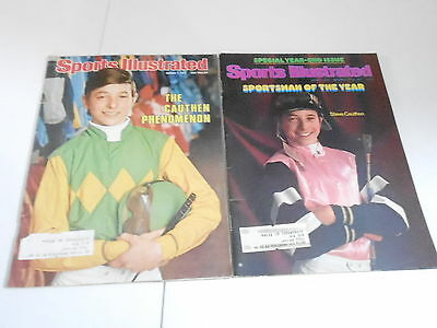 (2) 1970s SPORTS ILLUSTRATED magazine lot - HORSE RACING