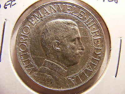 Italy Silver 2 Lire, 1908, Good EF - Great for a type set