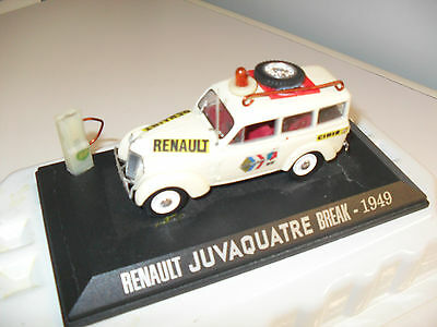 Voiture Renault Juva 4 Break Assistance  Diorama    1/43  Modifie Collection