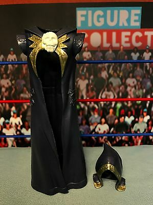 WWE Wrestling Mattel Elite Graveyard Hood and Cloak Jacket Figure Accessory Set