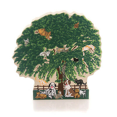 Cats Meow Village HUMANE SOCIETY TREE 2000 EVENT Special Event Ltd Ed 00-1002