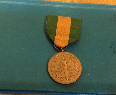 US Army Medal Mexican Border Service Authentic Pre WW-I Good Antique Condition