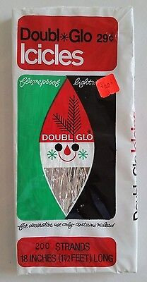 Vintage Doubl Glo Icicles Sealed