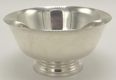 """Reed & Barton Sterling Silver Bowl X1455 Paul Revere Reproduction 5 1/4"""""""