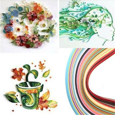 260pcs/26colors Stripes Quilling Paper Assorted Color Origami Paper Craft DIY Y2