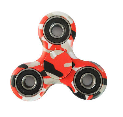 New 3D Fidget Hand Finger Spinner EDC Focus Stress Reliever Toys Camouflage
