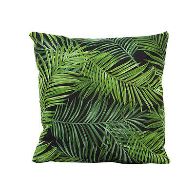 Flowers Grass Pattern Pillow Sofa Waist Throw Cushion Cover Home Decor