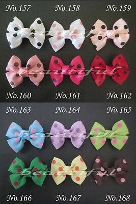 "300 BLESSING Good Girl Custom Boutique 2.5"" Bowknot Hair Bow Clip #420 Wholesale"